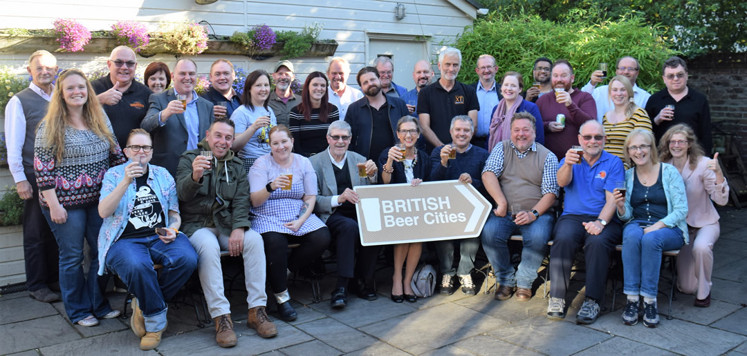 Above: attendees at the Beer Cities forum